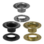 Plain Grommets & Neck Washers